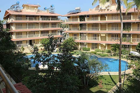 Lovely apartment in Baga, North Goa