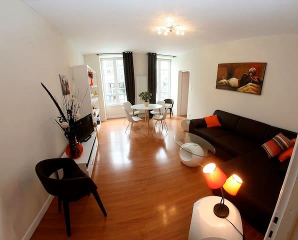 Nice Apartment downtown, refurbished, 2 bedrooms - Strasburgo - Appartamento
