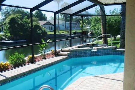 Waterfront Home, Heated Pool, Kayak - House
