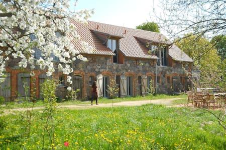Ferienscheune-Barnimer-Feldmark - Casa