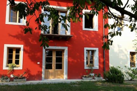 Casa in collina tra olivi e bosco - Sarmede - Huis