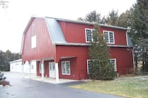 Another view of the Red Barn.