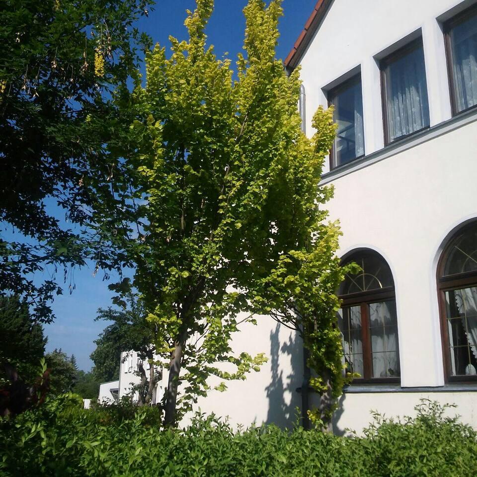 Haus von außen Straßenseite
