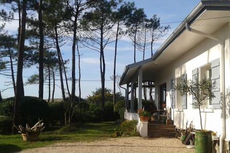 Charmante villa, vue sur la dune. - Hossegor