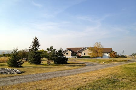 Quiet Stay on 30 Acres! Gluten Free - Gallatin Gateway - Hus