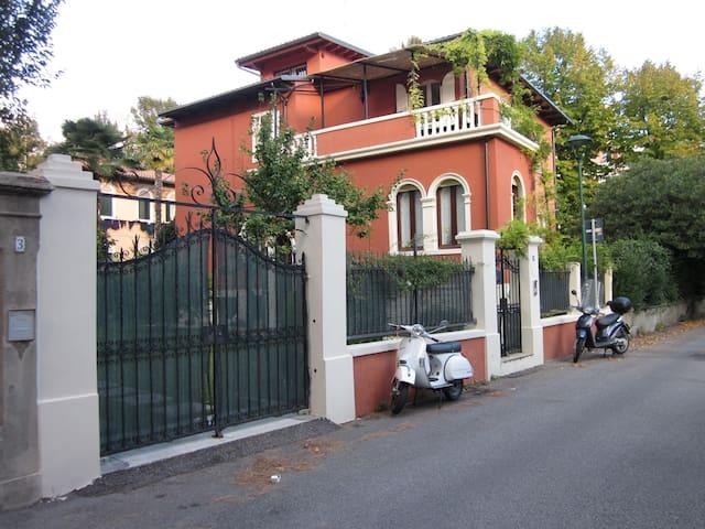 Apartment in art nouveau villa