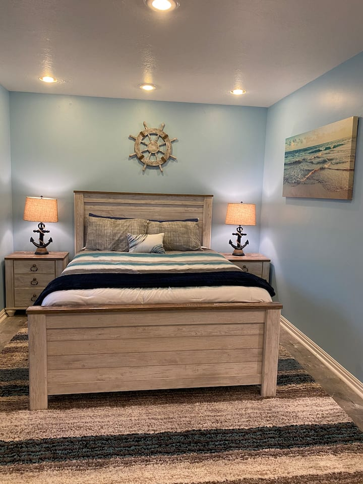 Private Guest Suite (BEACH THEME!)