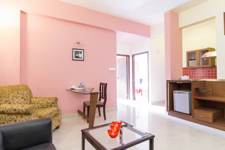 Private Apartment in Central BLR for longstay