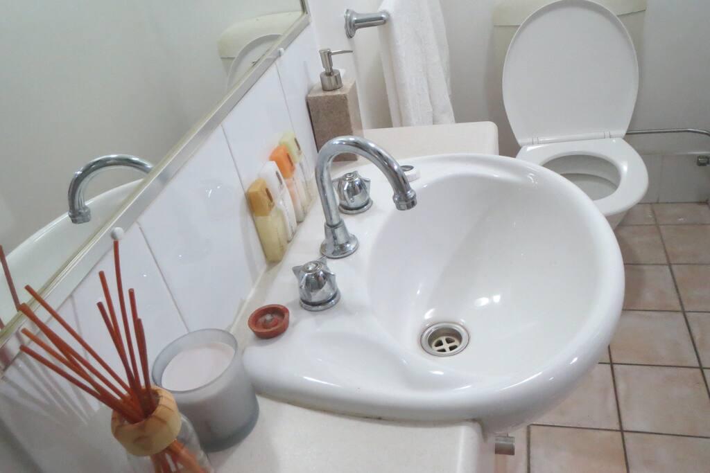 Private ensuite toilet