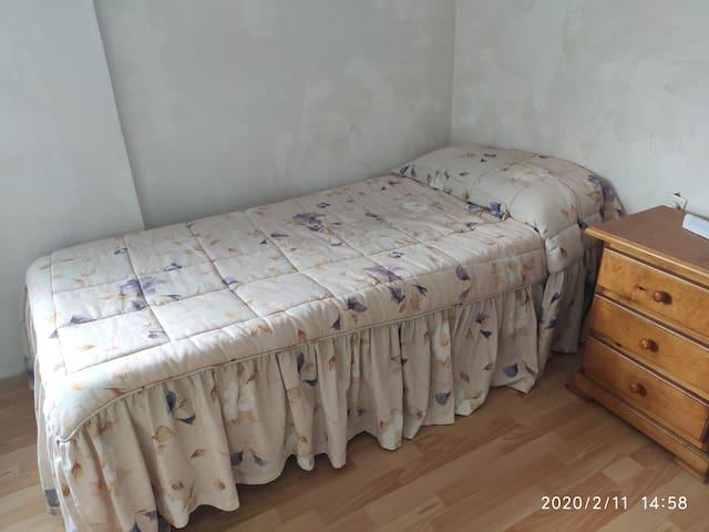 Simple Bedroom near Barcelona.