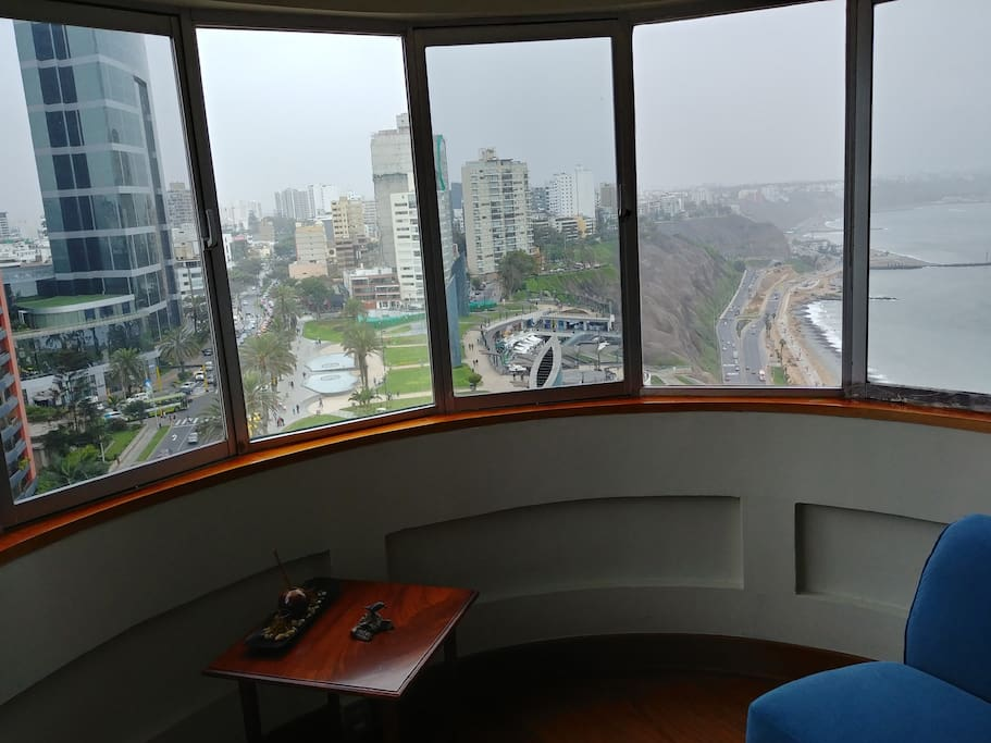 Panoramic View From Living Room 2
