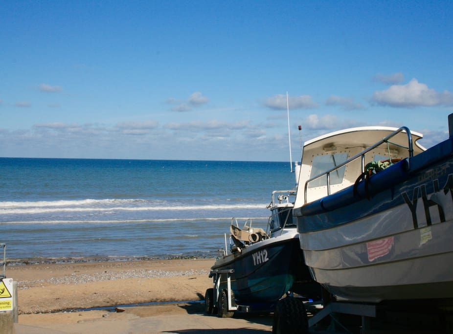 Sandy Beach, East Runton