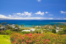Villa features fabulous views of Molokai and the dazzling Pacific