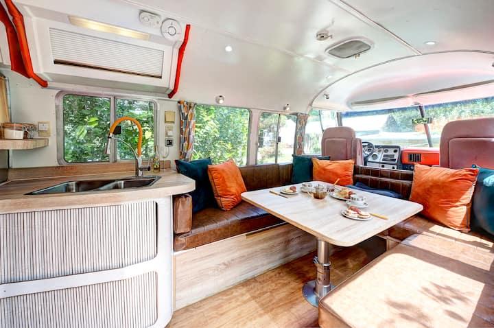 Glamping 1970s Airstream Motorhome