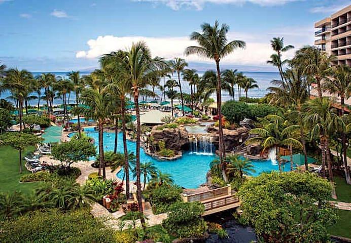 Ocean Front Marriott Maui  EASTER WEEK 2018
