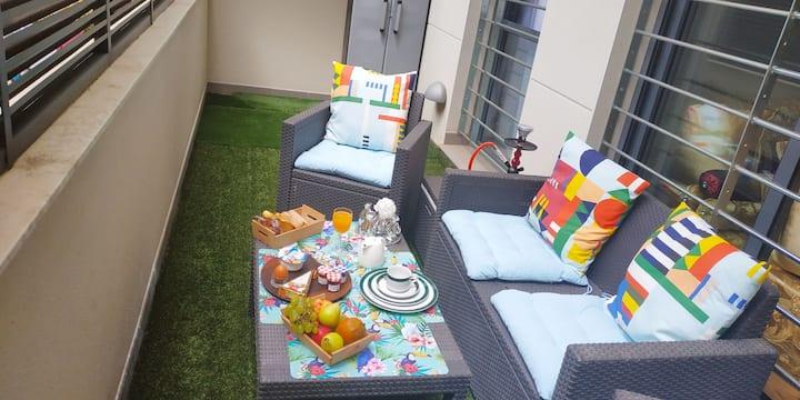 Apartement moderne centre Figueres avec piscine