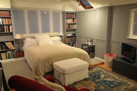 Very large bedroom with en-suite in pretty village