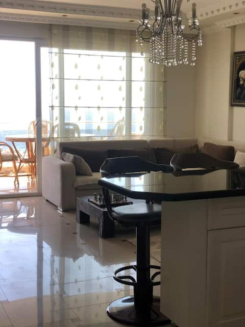 Квартира с видом на море в Махмутларе