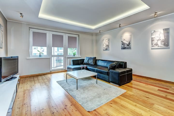 White apartment - Gdańsk - Daire