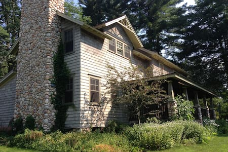 Arts & Crafts Farmhouse in the Catskills - Lake Huntington