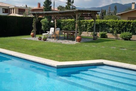 Bonita casa con jardin y piscina - Sant Esteve de Palautordera