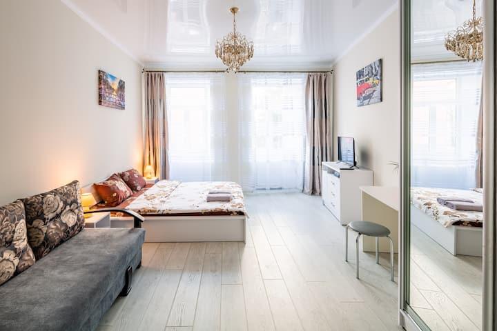 Чудові апартаменти у центрі Львова!Класу люкс.