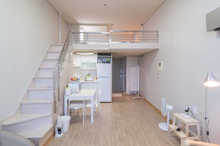 부천복층 Park View Home ★3min. Subway★ - Bucheon-si - Apartemen