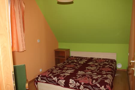 Double bed room with bathroom - Białowieża