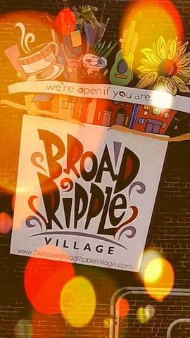 Best Location in Broad Ripple- Close to Everything