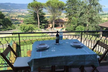 Anghiari , Tuscany apt with views - Anghiari - Wohnung