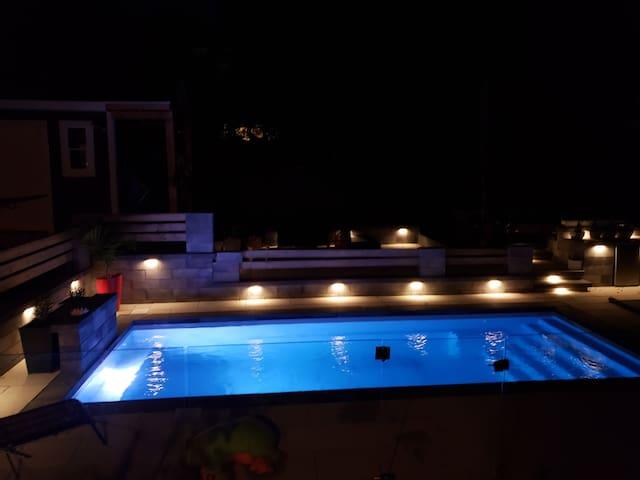Magnifique maison avec piscine creusée