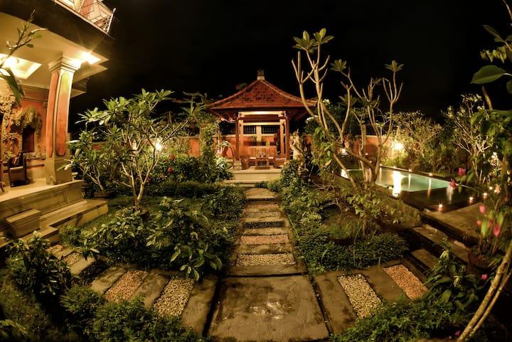 Pondok Dewa - Rice Paddy Twin Room 6
