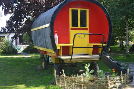 Romantic Gypsy wagon for two bnb - Castlemaine - Inny