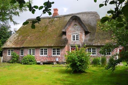 Charmerende bondehus i landsby