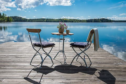 Premium Lakefront Cottage (autumn paradise 🍁🎣)