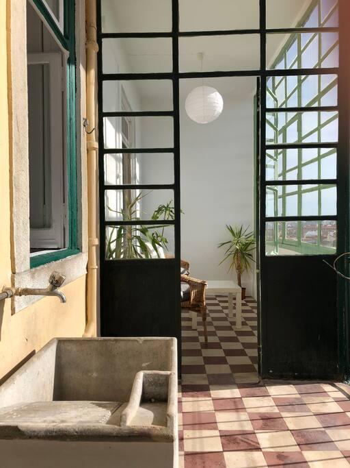Terrasse et véranda