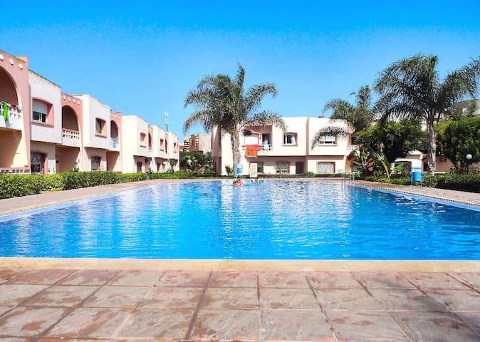 appartement 80 m2 piscine et jardin - sidi bouzid - Apartamento