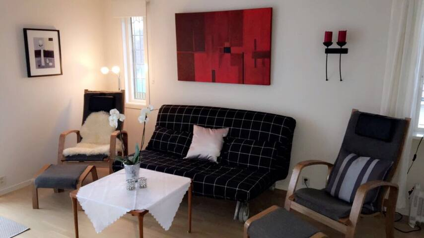 Fin leilighet i generasjonsbolig - Haugesund - Apartamento
