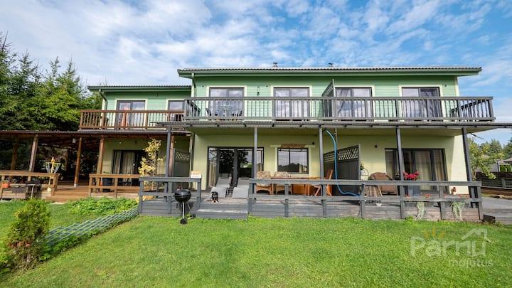 Pärnu Riverside Apartment in a Terraced House