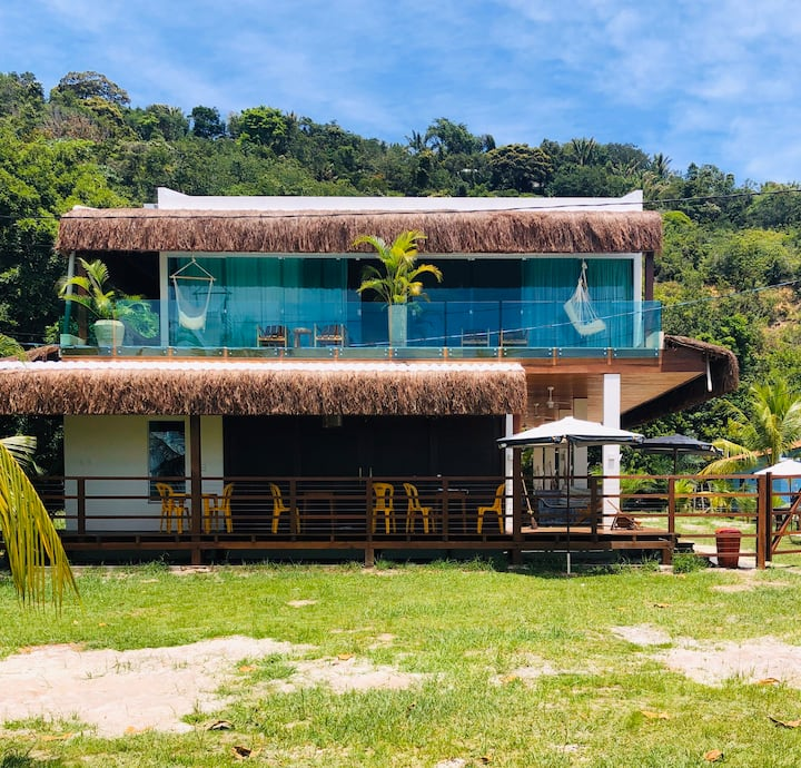 Bella Gamboa!,Casa da Praia !Morro de San Pablo