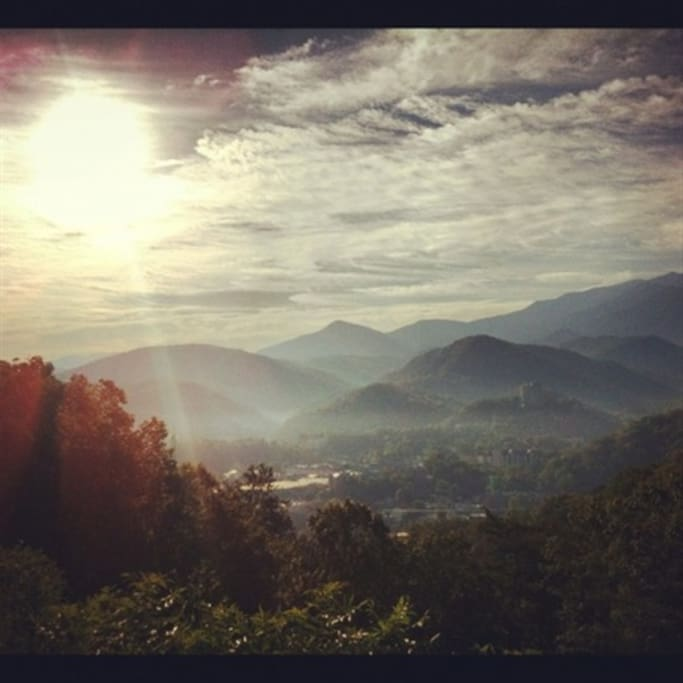 Morning dawns in the Smokies!