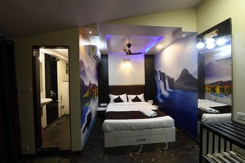Classic Room at Hotel Panchgani Inn