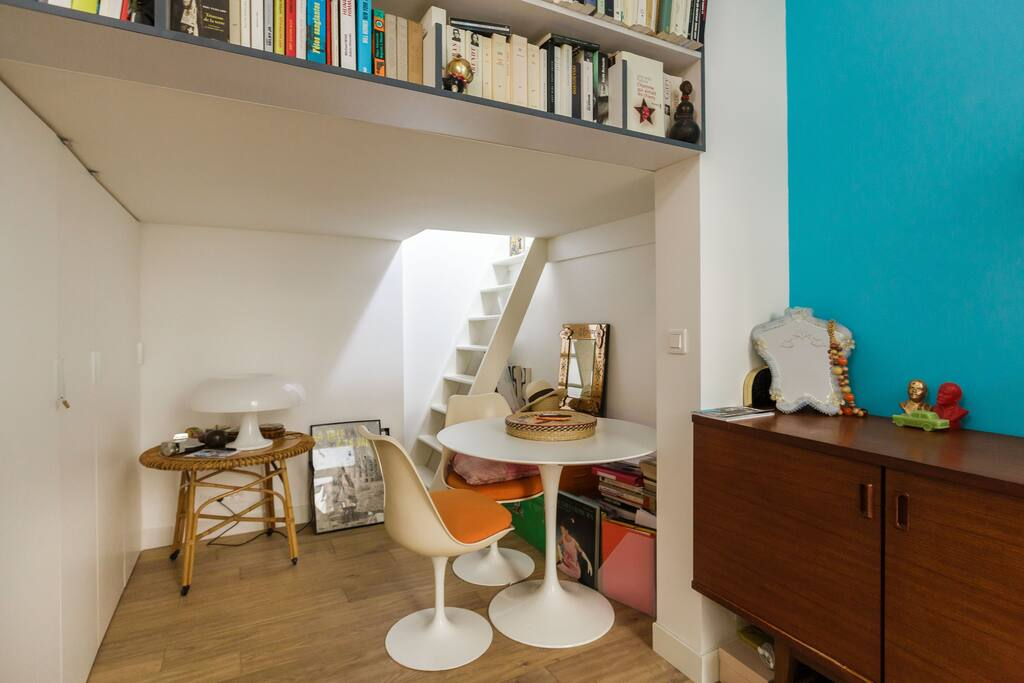 espace ouvert, fonctionnel et convivial
