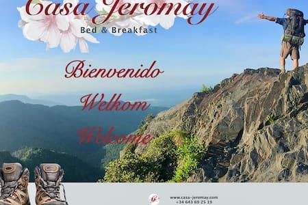B&B Casa Jeromay  |  Room Flor de Almendro