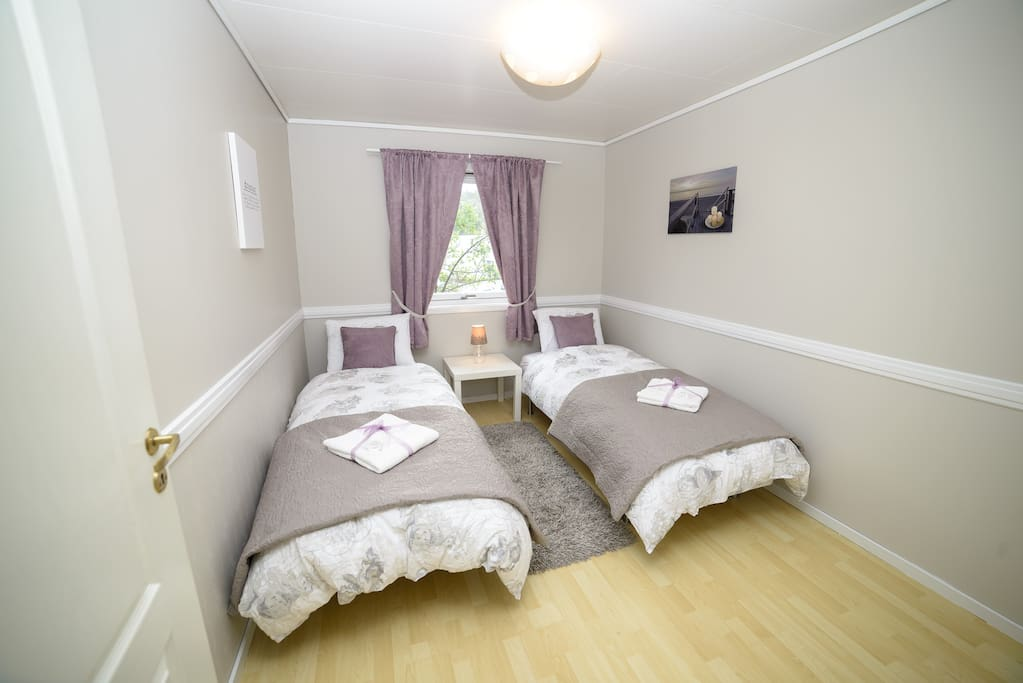 Relax and sleep in full privacy in this spacious room with very comfortable beds.
