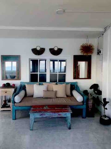 Bali vibes living room style