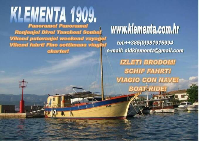 """""""KLEMENTA 1909"""" -  sailing apartment"""