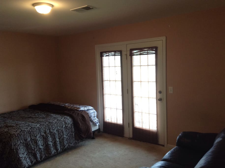 Co Captain Suite - Another huge room with balcony access.  Queen size bed