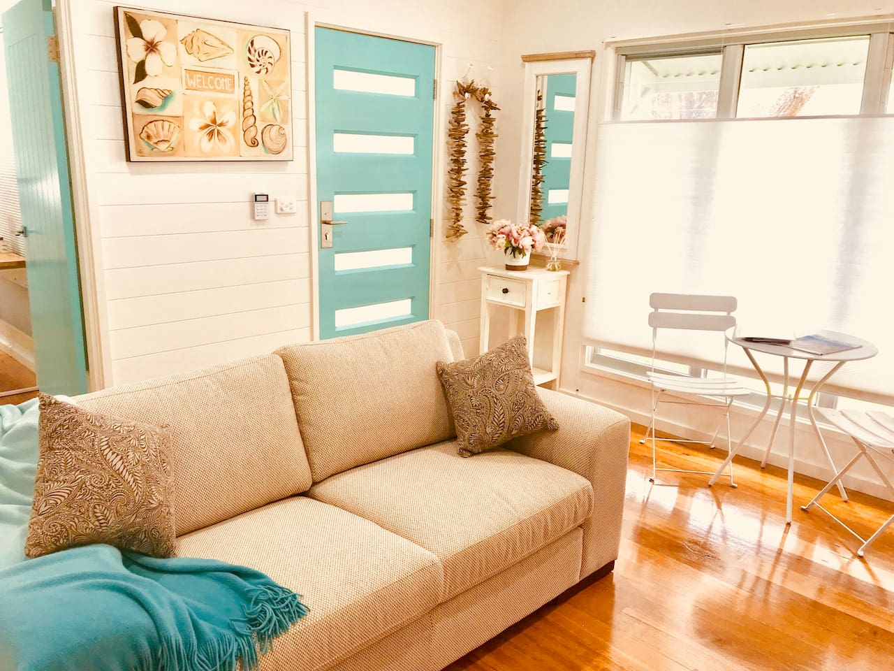 light and airy lounge room