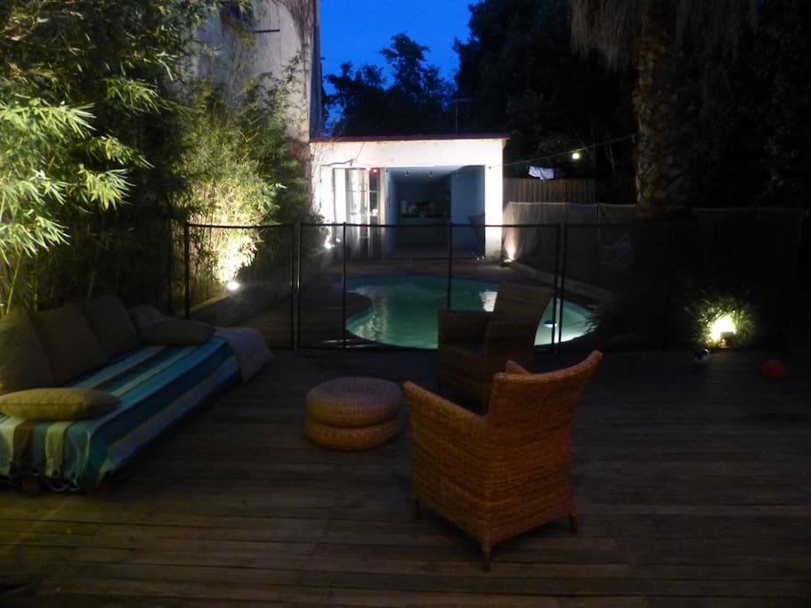 Villa id ale visa pour l 39 image centre de perpignan houses for rent in perpignan languedoc - Jardin en pente photos perpignan ...